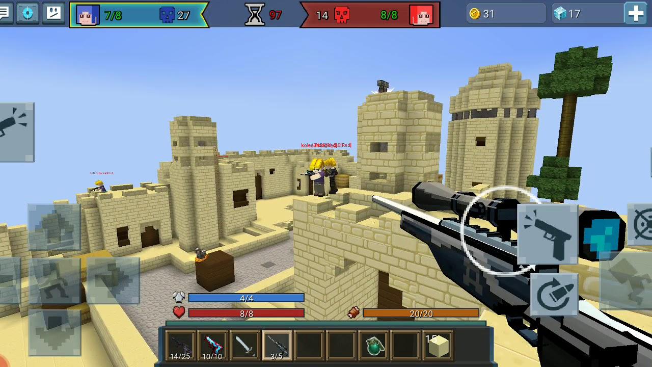 игры майнкрафт стрелки #11