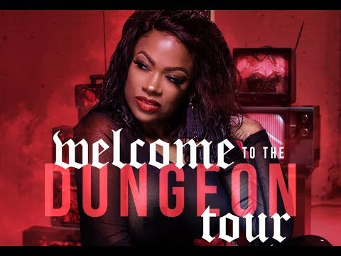 Uptown Angela - Peek Behind The Dungeon Tour Curtain...