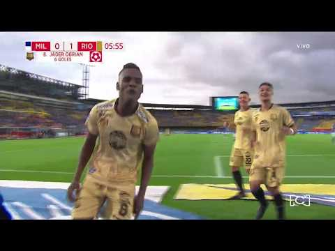 Millonarios 0-1 Rionegro Águilas, gol Jáder Obrain I Deportes RCN