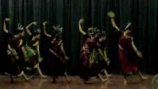 Flute kick dance by mayuri,ann and my seniors