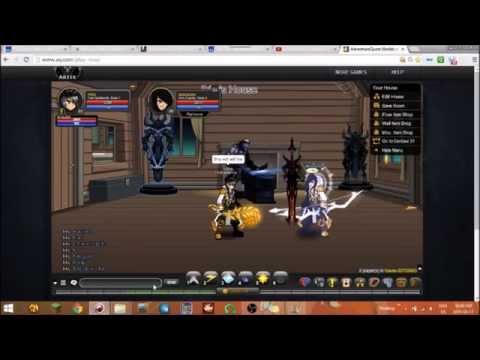 AQW Troll spellsmith vs Horc evader