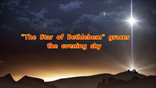 "The ""Star of Bethlehem""  Graces the Evening Sky"