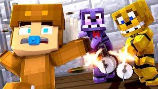 Minecraft Prison - FNAF BABIES ESCAPE PRISON! w/ MooseCraft (Minecraft Kids Roleplay) Cops N Robbers