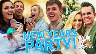 WE'VE NEVER DONE THIS! NEW YEARS EVE PARTY 2016! 🎉
