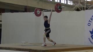 Толчок 77 кг Балакин Дима, вк 56 и Маклаков Тимур, вк 50