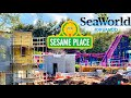 SeaWorld Orlando Construction Update - Sesame Street Land!