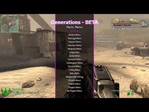 Call of Duty: Modern Warfare 2 Steam PC Mod Menu Generations