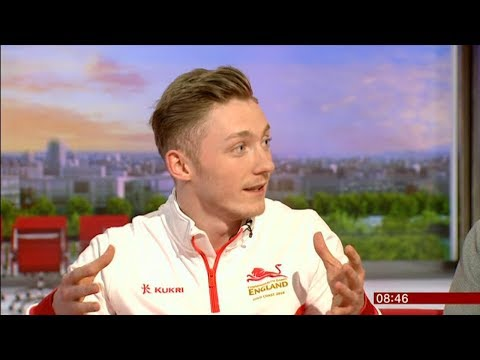 NILE WILSON Gold Medal Winning Gymnast Commonwealth Games interview