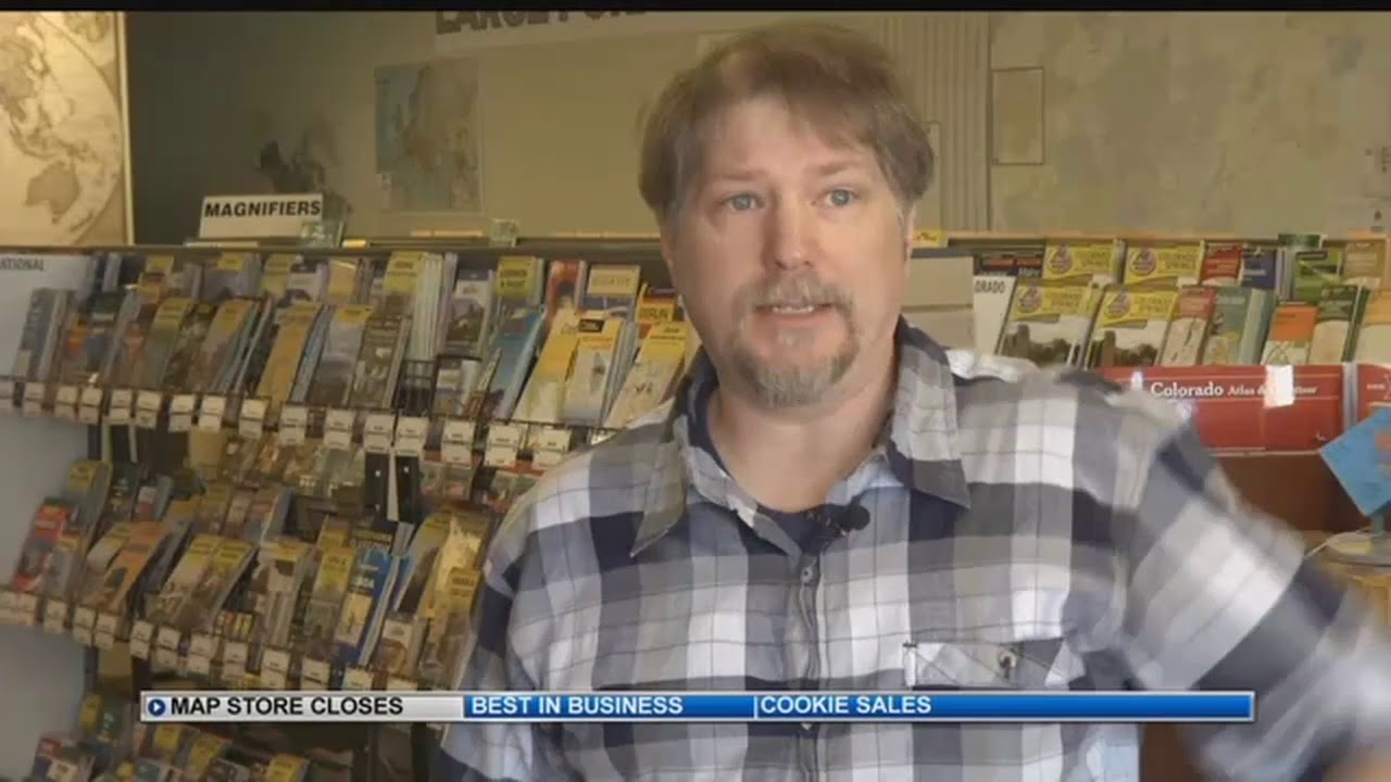 Map Store Colorado Springs End of an era: MacVan Maps closing after 40 years in Colorado