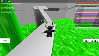 playing pro and noob with kur (speed run 4)roblox part 1