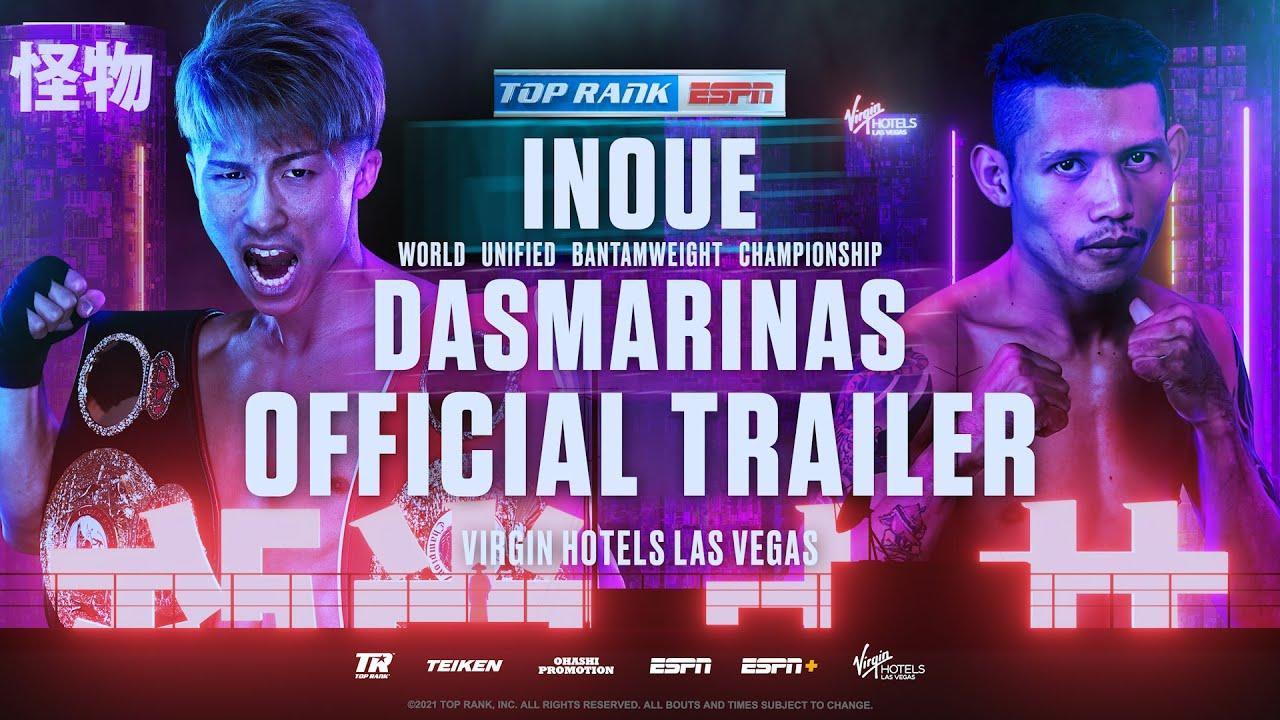 Naoya Inoue vs Michael Dasmarinas | OFFICIAL TRAILER - YouTube