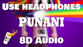 6IX9INE - PUNANI (8D AUDIO) 🎧 [BEST VERSION]