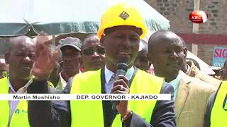Kitengela residents to benefit from a multi-million shillings road project