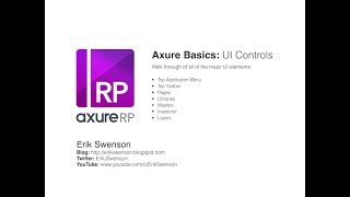 axure RP 8 tutorial for beginners :10 How to create a mobile menu