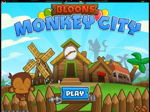 Bloons Monkey City | Gameplay Video IOS / Android IGV