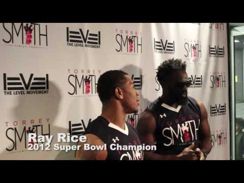 Ray Rice, Ed Reed, and Torrey Smith speak on Torrey Smith Charity Basketball Game