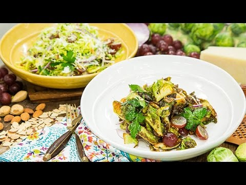 Recipe  Chef Antonia Lofaso's Charred Brussels Sprouts  Hallmark Channel