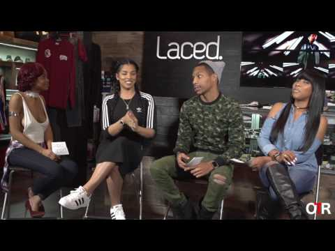 Off The Record at Laced. feat. Love & Hip Hop's Kamiah Adams & Celeb Stylist Scooter Styles