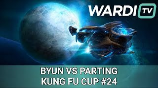 ByuN vs PartinG (TvP) - $500 Kung Fu Cup Weekly #24