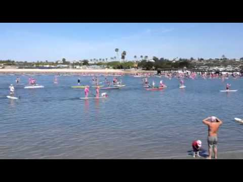 The So Cal Sup Chicks Stand Up for the Cure Event May 2014