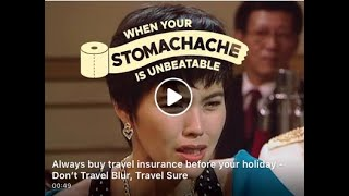 Always buy travel insurance before your holiday – Don't Travel Blur, Travel Sure