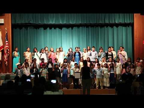 Curtner Elementary School Chorus Concert 2017 (Part-1)