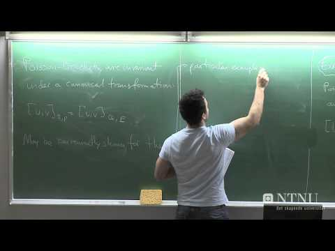 49: April Hamilton Jacobi theory  - Part 1