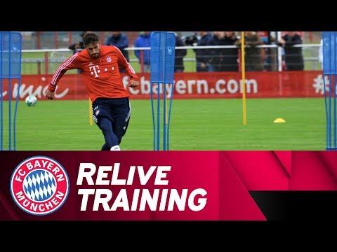ReLive | FC Bayern Training w/ Martínez, Vidal & Co.