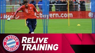 ReLive | FC Bayern Training w/ Martínez, Vidal & Co.