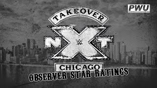 NXT Takeover Chicago Wrestling Observer Star Ratings