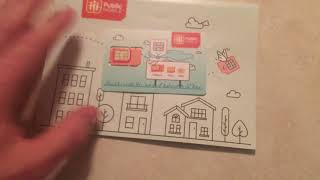 Public Mobile Sim Card unboxing