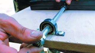 Самодельный фрезерный станок по дереву своими руками Часть 2 Homemade milling machine for wood(Как сделать фрезерный станок по дереву своими руками. В этом видео я расскажу о плавном приводе дополнитель..., 2015-04-11T21:00:01.000Z)