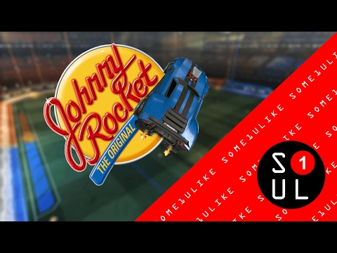 Rocket League - The Original, Johnny Rocket! - Ranked Double