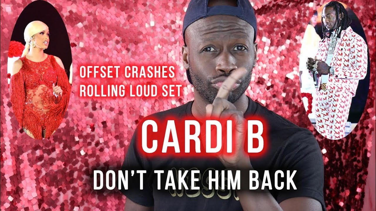 Offset Crashed Cardi B's Show. Cardi SOULD NOT Take Hime