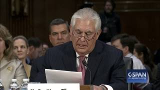 Repeat youtube video Secretary of State Nominee Rex Tillerson Opening Statement (C-SPAN)