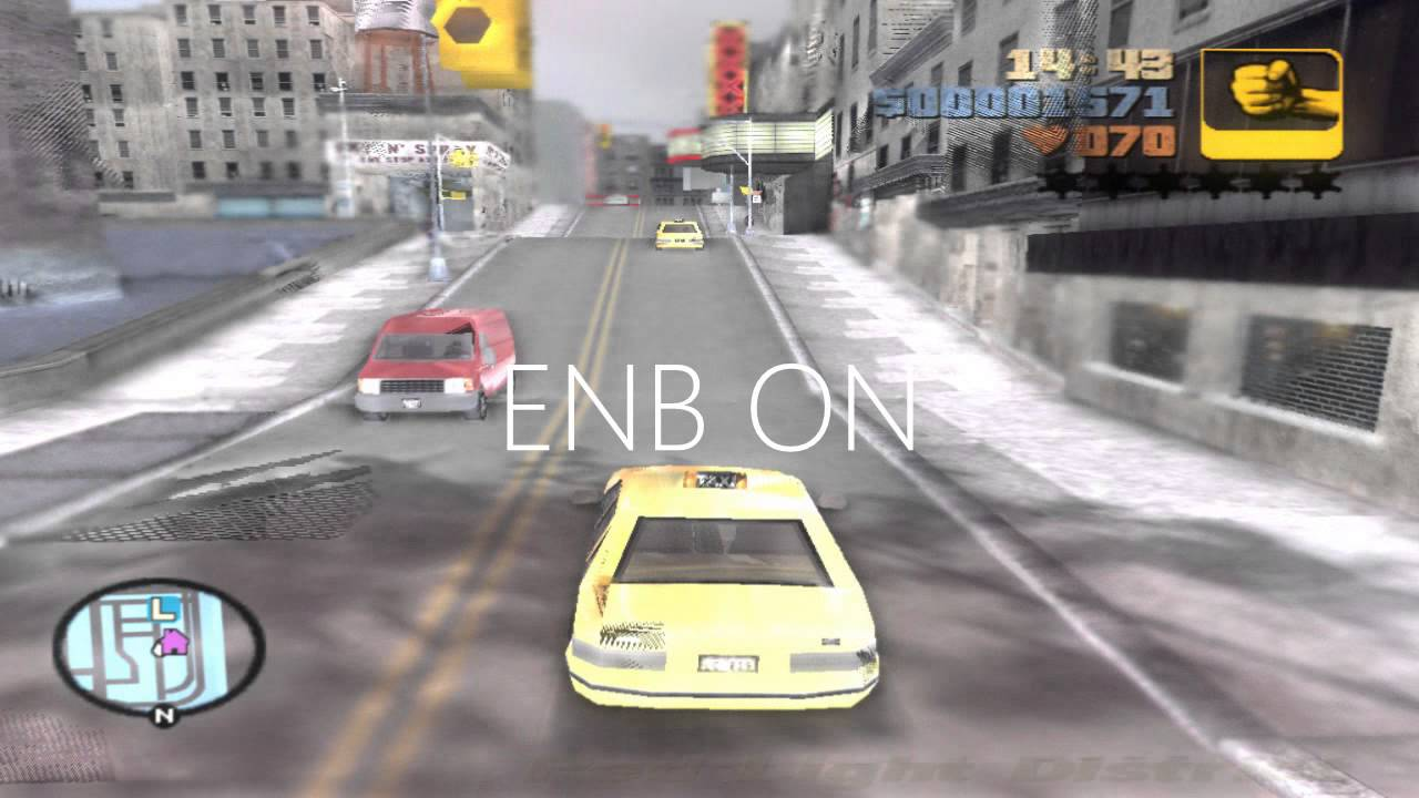 Gta iii beta enb series fail
