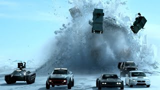 Fast and furious snow chase HD with Yalili Yalila Arabic song remix | Fate of furious chase part 3