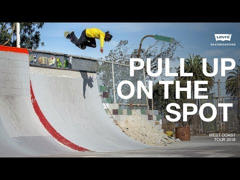 Levi's | Pull Up On The Spot - West Coast Tour