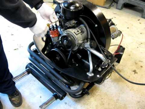 1600cc Vw Motor Engine Rebuild Testing Youtube