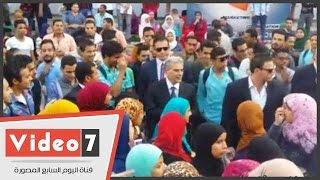 بالفيديو..جابر نصار لطلاب جامعة القاهرة: الشباب أثبت أننا نسير على الطريق الصحيح