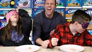 THE OREO CHALLENGE! Blindfold Taste Test