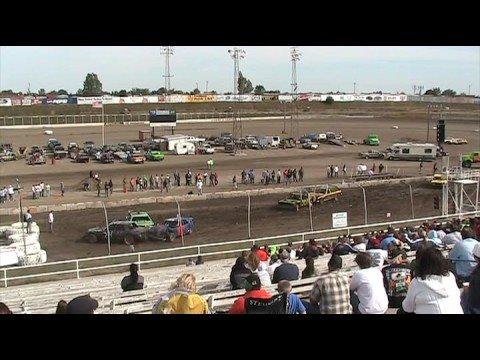 2008 black hills speedway demolition derby