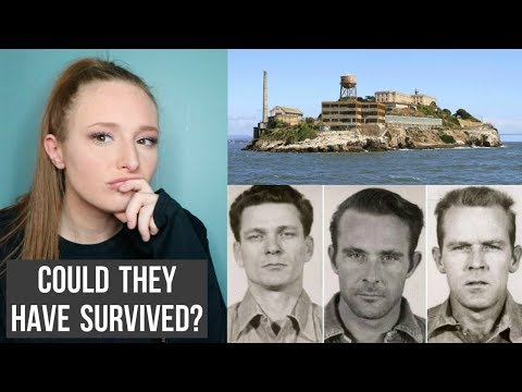 THE FAMOUS ESCAPE FROM ALCATRAZ - COULD THEY HAVE SURVIVED? | alaina