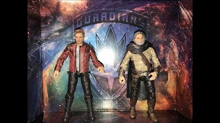 Marvel Legends EGO & STAR-LORD 2 Pack Guardians of the Galaxy Vol 2 Movie Figures Unboxing Review