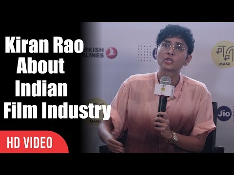 kiran Rao About Indian films | Becoming An Artist | Mami Film Festival Press Conference