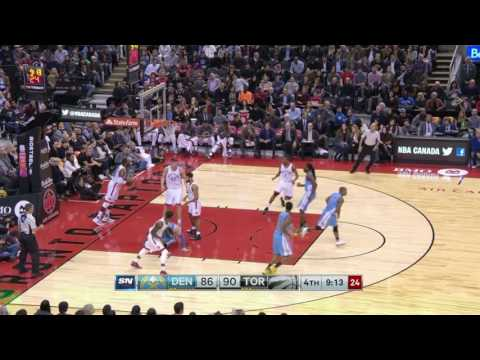 Denver Nuggets vs Toronto Raptors | October 31, 2016 | NBA 2016-17 Season