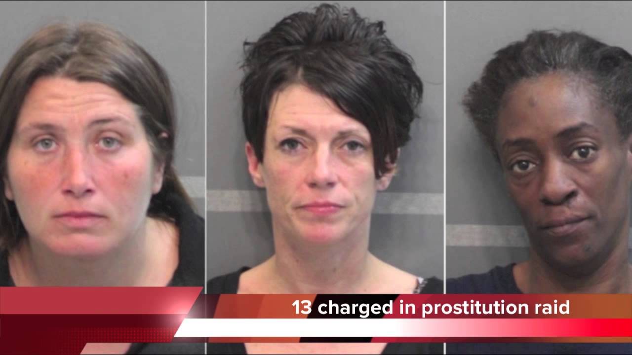 13 Arrested In Chattanooga Prostitution Raid
