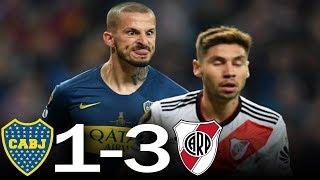RIVER vs BOCA (3-1) - Resumen Superfinal de la Copa Libertadores - Goles y Jugadas