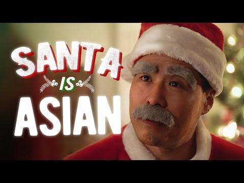 Why is Santa Asian? ft. Randall Park