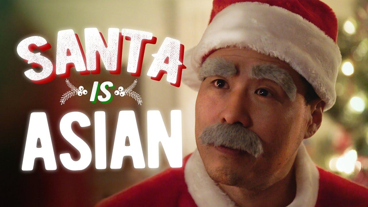why is santa asian ft randall park youtube - Santa Santa Claus